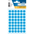 Herma Label 1863 ø12mm Blu (240 Labels/Pack)