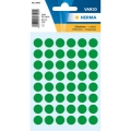 Herma Label 1865 ø12mm Grn (240 Labels/Pack)