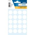 Herma Label 1870 ø19mm White (100 Labels/Pack)