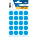 Herma Label 1873 ø19mm Blue (100 Labels/Pack)