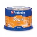 VERBATIM DVD-Recordable 16X, Spindle 50's