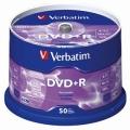 VERBATIM DVD+Recordable 16X, Spindle 50's