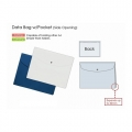 PLUS Gusseted Data Bag, Landscape (Blue)