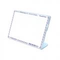 STZ Acrylic Card Stand 50978, L-Shape