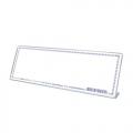 STZ Acrylic Card Stand 50981, L-Shape