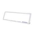 STZ Acrylic Card Stand 50982, L-Shape