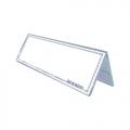 STZ Acrylic Card Stand 50991, Inverted V-Shape