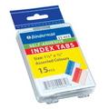 "BINDERMAX Color Index Tab IT-015, 1.5"" 15's"