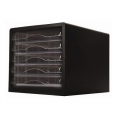 POP BAZIC File Cabinet 9775, 5 Drawer (Blk)