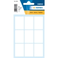 Herma Sticker 3752  24x35mm White (63 Labels/Pack)